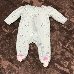 🌻3/20$ Carter's Footie Pajamas Size 3 Months